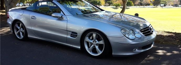 Mercedes-Benz sl 600 v12